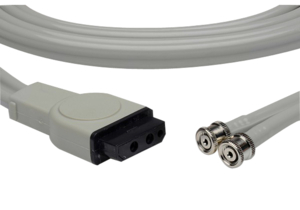 12 FT 2 TUBE ADAPTOR NIBP HOSE by Advantage Medical Cables, Inc (AMC)