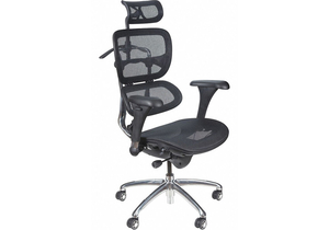 TASK CHAIR MESH BLACK 18 TO 21 SEAT HT by Balt