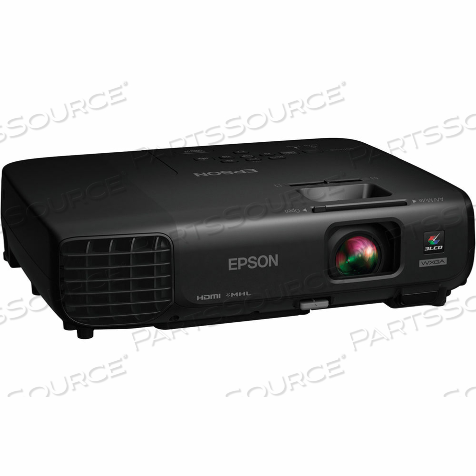 EPSON POWERLITE 1263W WIRELESS HD 3LCD PROJECTOR WXGA