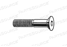 SHCS FLAT M10-1.50X55MM STEEL PK350 by Fabory