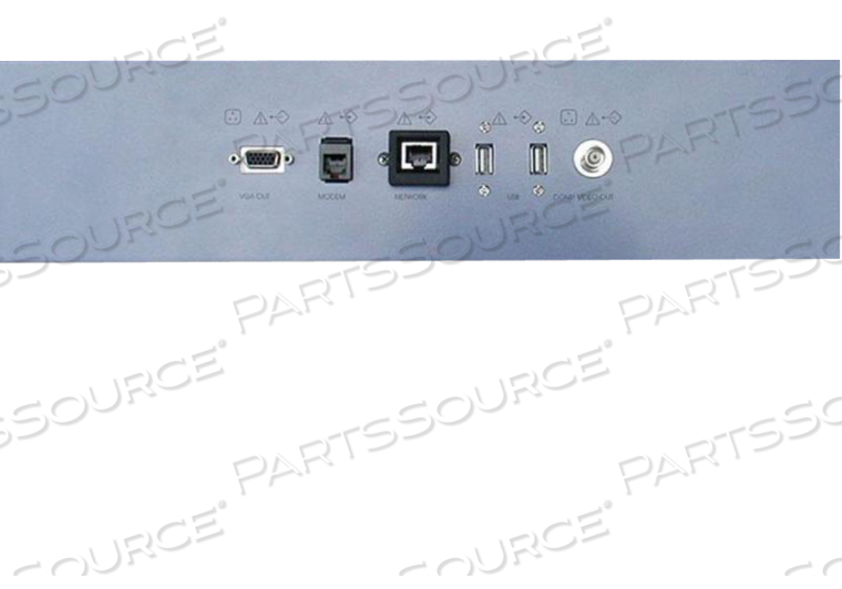 M-PLATE GES8 INPUT/OUTPUT CONNECTION PANEL