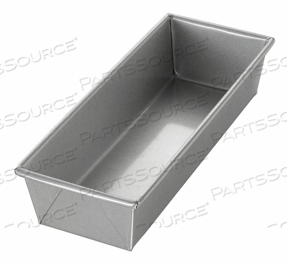BREAD PAN SINGLE PLAIN 12-1/4X4-1/2 by Chicago Metallic