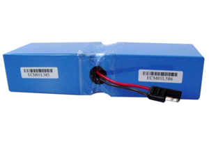 RECHARGEABLE BATTERY PACK, SEALED LEAD ACID, 12V, 5 AH, WIRE LEADS by Impact Instrumentation, Inc.