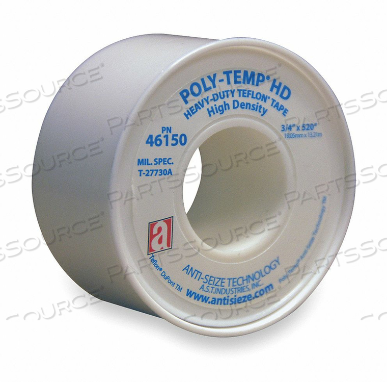 THREAD SEALANT TAPE 3/4 IN W 520 IN L by Anti-Seize Technology