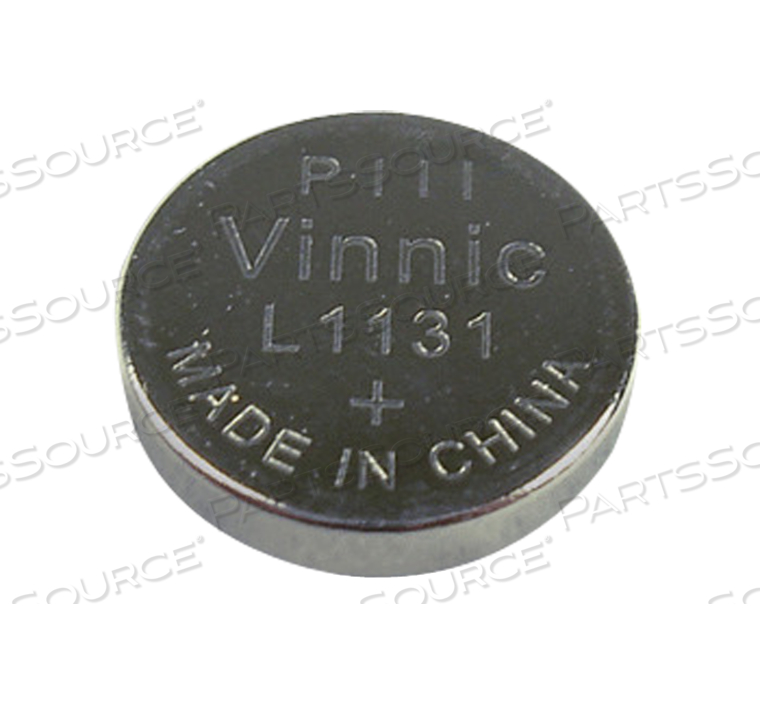 189 ALKALINE BUTTON CELL BATTERY, L1131 by R&D Batteries, Inc.