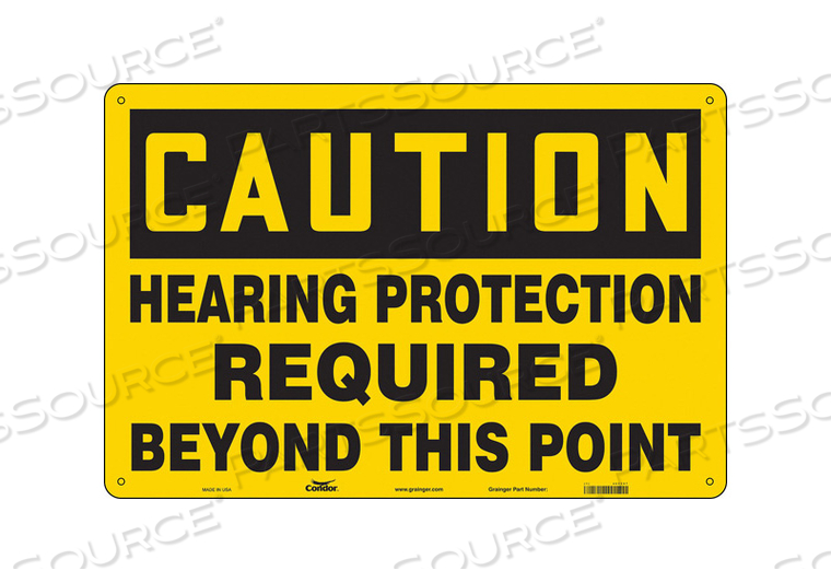 SAFETY SIGN 36 W 24 H 0.055 THICKNESS by Condor
