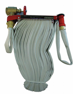 FIRE HOSE PIN RACK 1-1/2 ID X 50 FT by Moon American
