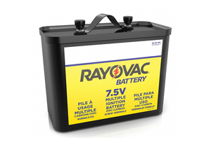 BATTERY FENCE/IGNITION, CARBON ZINC, 7.5V, 23 AH by Rayovac