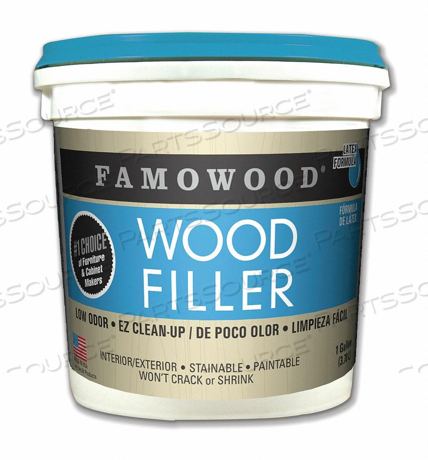 WOOD FILLER 1 GAL. FIR-MAPLE PAIL by Famowood