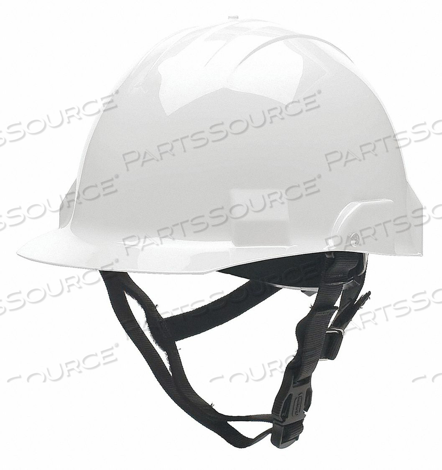 FIRE/RESCUE HELMET THERMOPLASTIC WHITE by Bullard