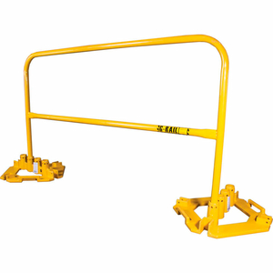 8' L RAIL WITH MULTI-DIRECTIONAL BASE PLATE KIT, RAIL + (1) BASE PLATE by Guardian Fall Protection