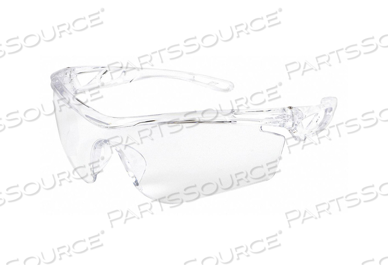 SAFETY GLASS CLEAR LENS HALF-FRAME by MCR Safety