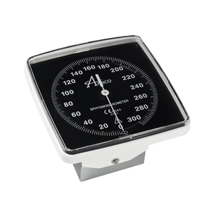 WALL ANEROID GAUGE WITH VERTICAL RAIL MOUNT by Amico Accessories Inc.