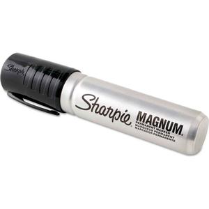 MAGNUM PERMANENT MARKER - BLACK - DOZEN by Sharpie