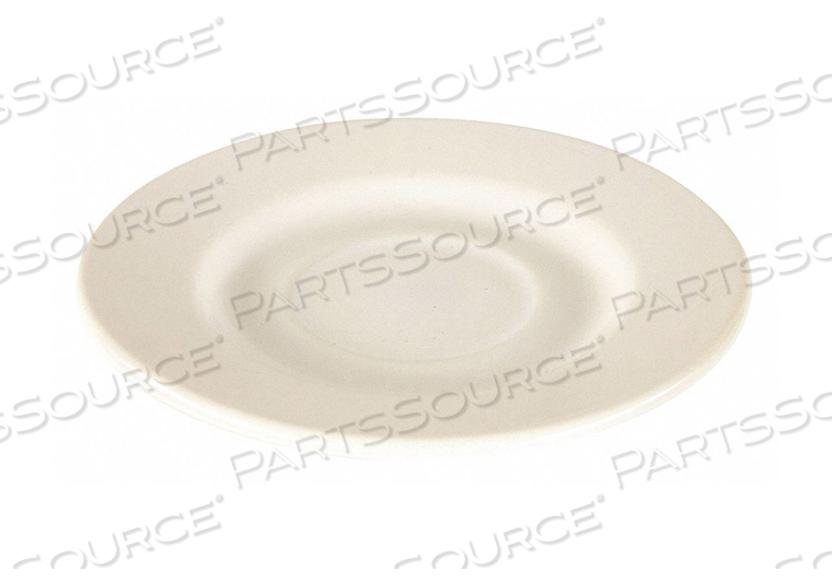 SAUCER 6 IN. BRIGHT WHITE PK36 by Crestware