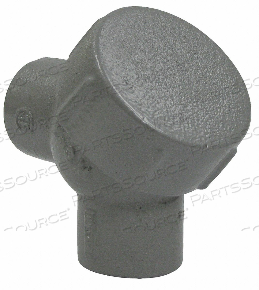 CAPPED ELBOW 90 DEG HAZ LOC 1-1/2IN IRON by Hubbell Power Systems