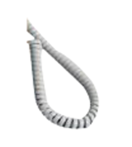 TELEPHONE HANDSET CABLE, 6 FT by Natus Medical - Nicolet Dopplers