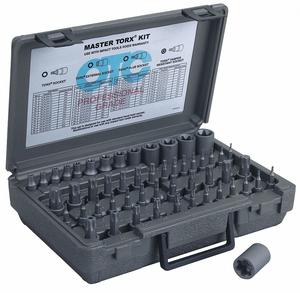 SOCKET SET TORX(R) BLACK OXIDE 53 PCS. by OTC