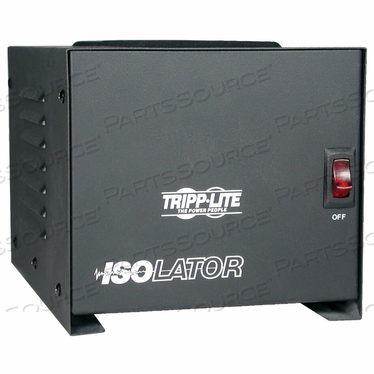 TRIPP LITE ISOLATION TRANSFORMER 1000W SURGE 120V 4 OUTLET 6FT CORD TAA GSA by Tripp Lite