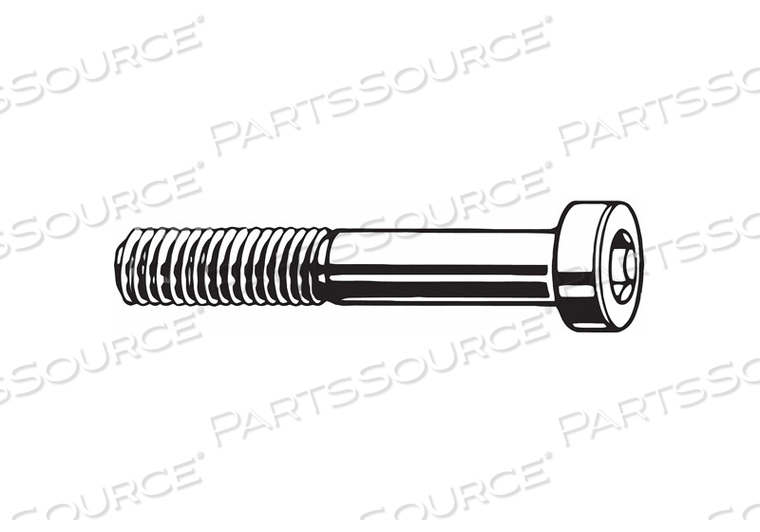 SHCS LOW M4-0.70X20MM STEEL PK4700 by Fabory