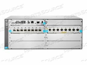 HPE ARUBA 5406R 8-PORT 1/2.5/5/10GBASE-T POE+ / 8-PORT SFP+ (NO PSU) V3 ZL2 - SWITCH - MANAGED - 8 X 1 GIGABIT / 10 GIGABIT SFP+ + 8 X 1/2.5/5/10GBASE-T (POE+) - RACK-MOUNTABLE - POE+ - REMARKETED by HP (Hewlett-Packard)