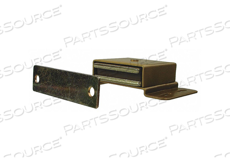 MAGNETIC CATCH PULL-TO-OPEN 34 LB. BRASS by Monroe PMP