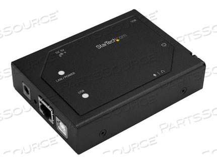 STARTECH.COM VGA OVER IP EXTENDER WITH 2-PORT USB HUB - 1920 X 1200 - VIDEO/AUDIO EXTENDER - VGA - UP TO 328 FT by StarTech.com Ltd.