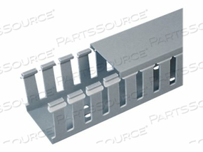 WIRE DUCT WIDE SLOT GRAY 1.75 W X 2 D by Panduit