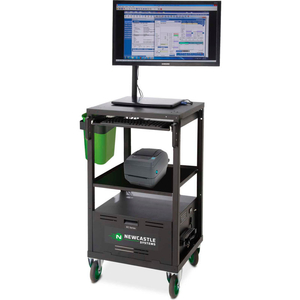 EC SERIES ECOCART MOBILE POWERED LAPTOP CART WITH 40AH BATTERY by New Castle Systems