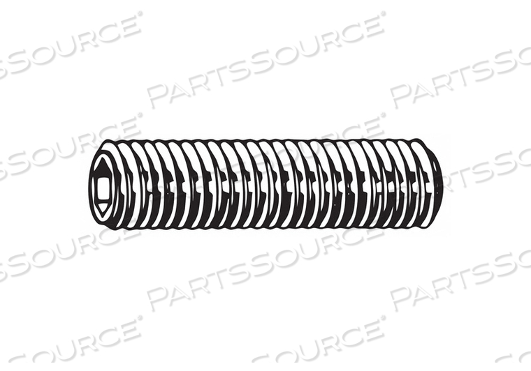 SET SCREW FLAT 80MM L STEEL PK110 by Fabory