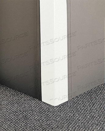CORNER GRD 96IN.H LINEN WHITE 0.080IN.T by Pawling Corp