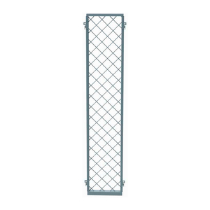 EZ WIRE MESH PARTITION PANEL, 1'W X 8'H by Husky Rack & Wire