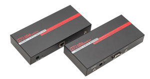 KVM AUDIO EXTENDER, 7.5 X 1.25 X 3.75 IN by Hall Research Inc.