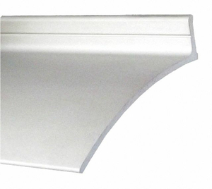 DOOR DRIP EDGE CLEAR ANODIZED 52 IN L by Pemko