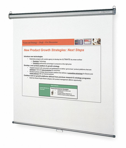 PROJECTION SCREEN 84 X 84 IN VIEWABLE by Quartet