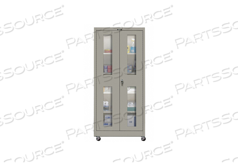 H2209 SHELVING CABINET 72 H 48 W GRAY by Hallowell