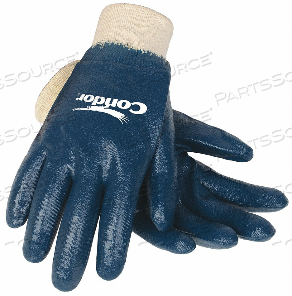 D1782 COATED GLOVES COTTON S PR by Condor
