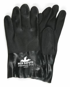BLACK PVC NON SLIP INTERLOCK LI S PK12 by MCR Safety
