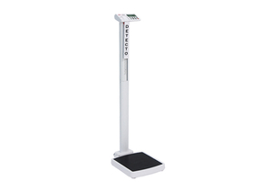 SOLO DIGITAL EYE-LEVEL PHYSICIAN SCALE, 550 LB X 0.2 LB/250 KG X 0.1 KG by Detecto Scale / Cardinal Scale