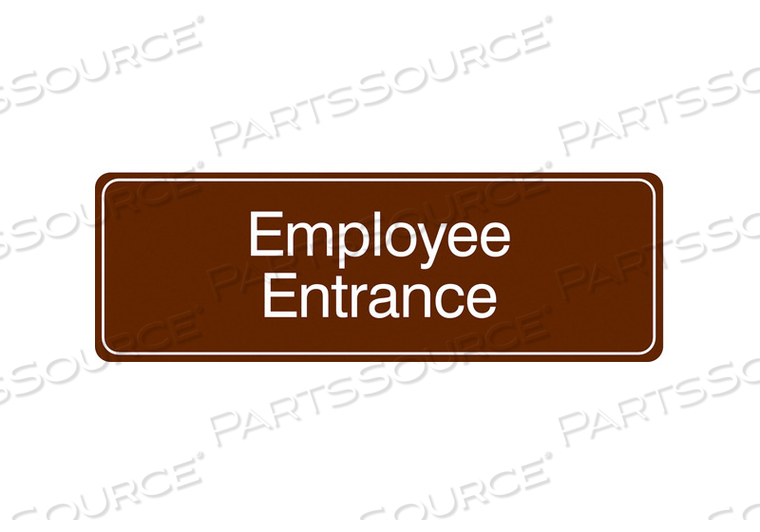 FACILITY SIGN 9 W 3 H 0.135 THICKNESS by Condor