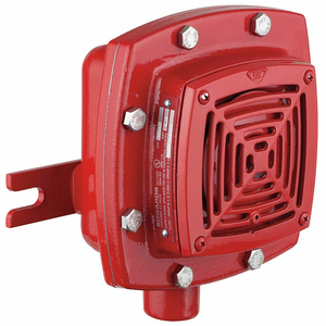 HAZ. LOCATION HORN RED 20-24VDC by Edwards Signaling