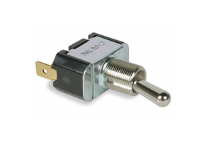 TOGGLE SWITCH SPST 10A @ 250V QUIKCONNCT by Carling Technologies