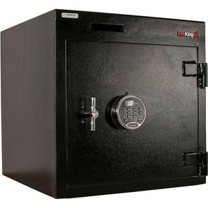 "DROP DRAWER SAFE 20-1/4""W X 20""D X 20-1/2""H ELECTRONIC LOCK 4.29 CU. FT BLACK by Fire King"