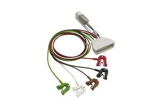 85CM 5 LEAD PINCH/GRABBER SPO2 ECG CABLE by Philips Healthcare (Medical Supplies)