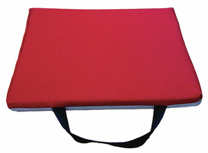 KNEELING MAT 12 X 24 IN. RED/GRAY by Impacto