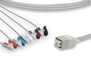 5 LEAD GRABBER ECG MULTI-LINK LEADWIRE SET by Vyaire Medical Inc.