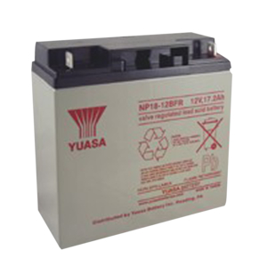 YUASA 12 VOLT 17.2AH BATTERY - FIRE RETARDANT by R&D Batteries, Inc.