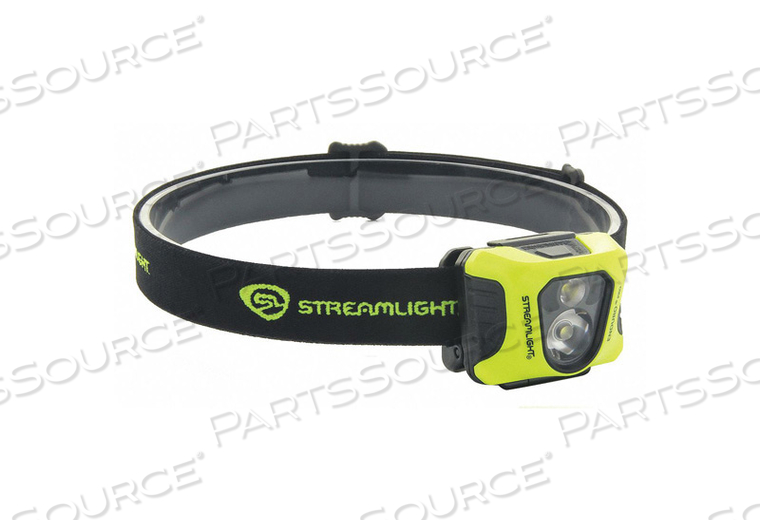 HEADLAMP 200/75/25 LM YELLOW BODY LED by Streamlight