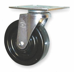 SWIVEL CASTER FOR USE WITH 1D652 by Rubbermaid Medical Division