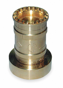 FIRE HOSE NOZZLE 1-1/2 IN. BRASS by Moon American